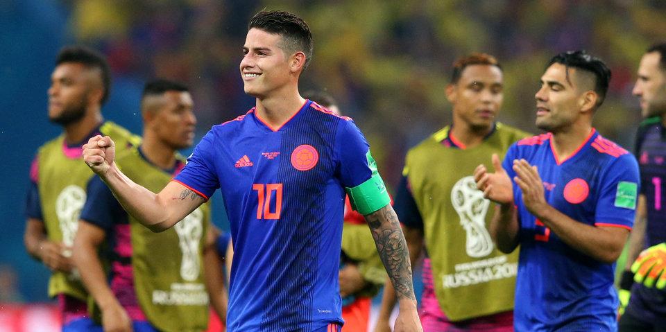Родригес стал лучшим игроком матча с Польшей