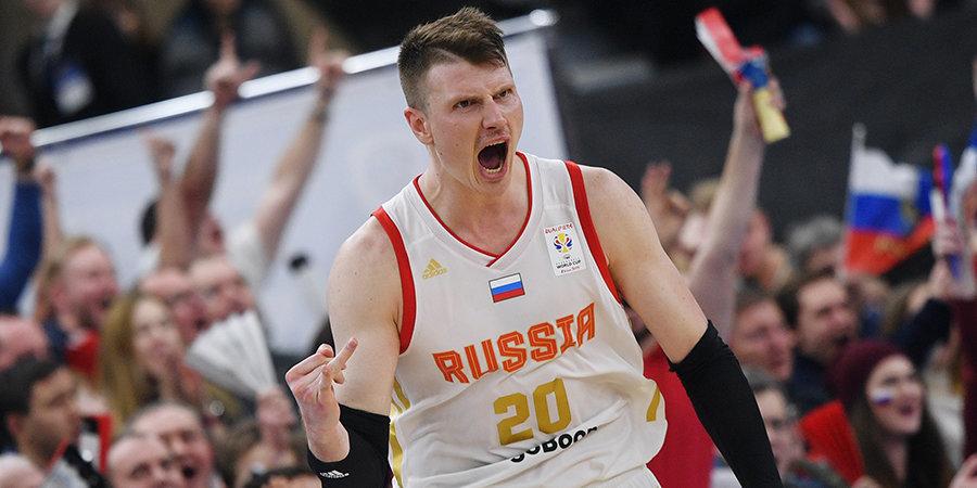 Мы едем на ЧМ-2019! Россия выиграла у Финляндии, несмотря на «-18»
