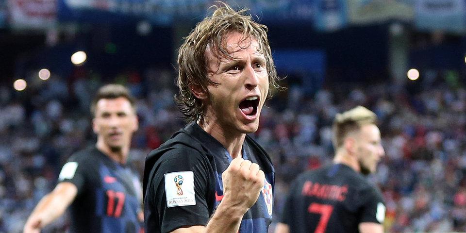 Сборная Хорватии показала победную раздевалку после матча с Испанией