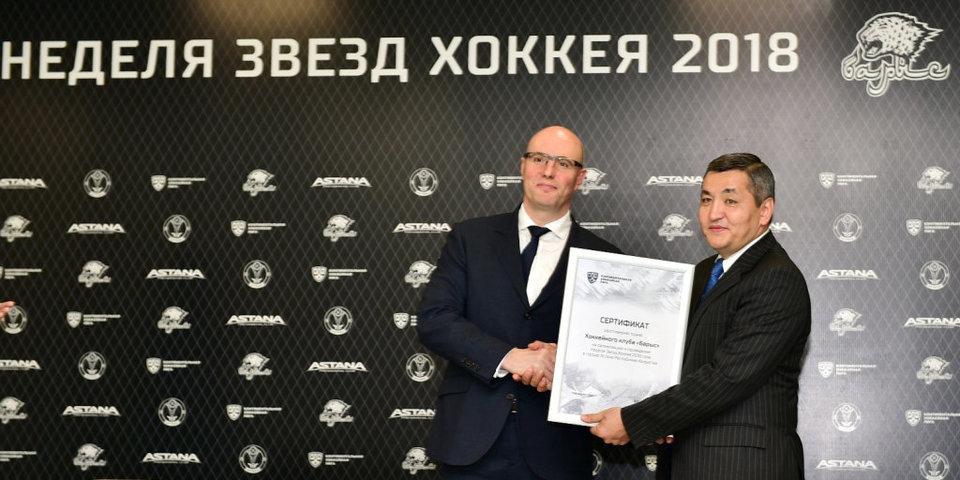 Президент «Барыса»: «Одна из основных задач тренерского штаба – дать молодым игрокам возможность набить шишки»
