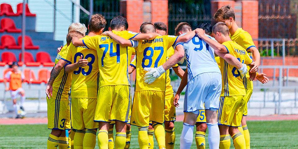 «Амкар» и «Ростов» не выявили сильнейшего в матче молодежек