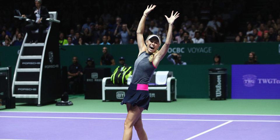 Проведена жеребьевка итогового турнира WTA