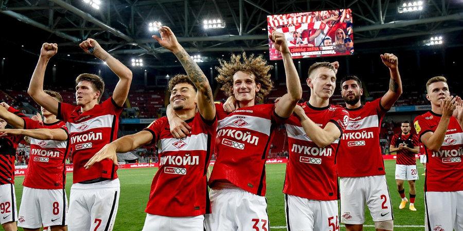 Хабиб Нурмагомедов: «Пока рано говорить о чемпионских амбициях «Спартака»