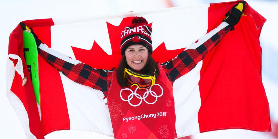 Канадская фристайлистка Серва завоевала золото Олимпиады в ски-кроссе