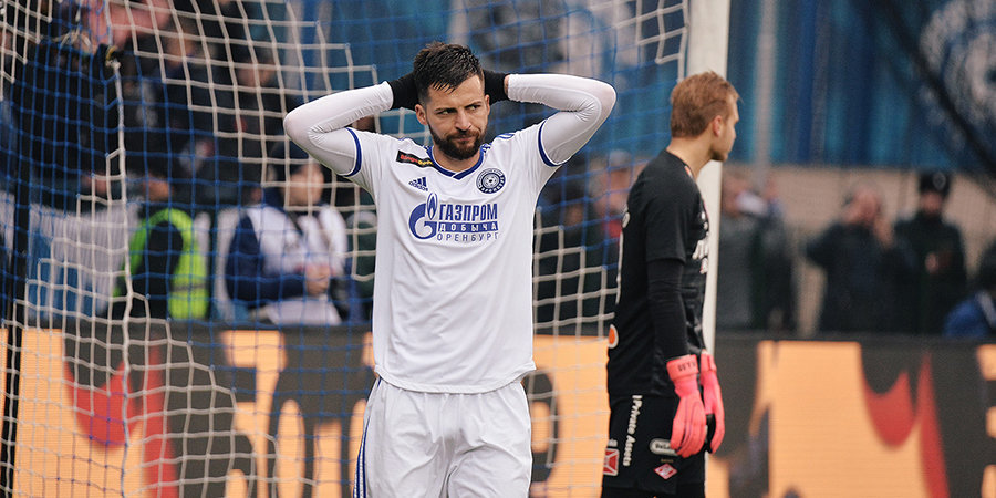 СМИ: Деспотович отказался бесплатно играть за «Оренбург» до конца сезона