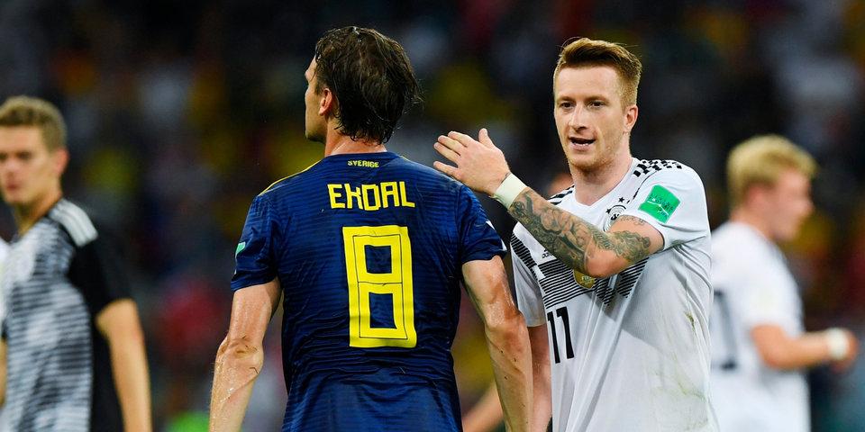 Ройс – лучший игрок матча со Швецией