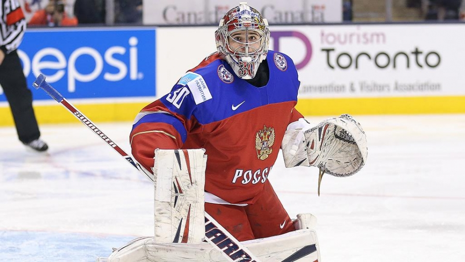 Шестеркин будет играть в воротах сборной России в матче против Швеции