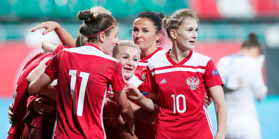 Женская сборная России обыграла Косово, забив три мяча за шесть минут