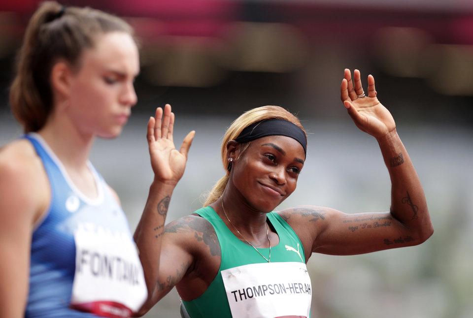 Ямайские бегуньи заняли весь пьедестал в финале олимпийской стометровки, Фрэйзер-Прайс — вторая