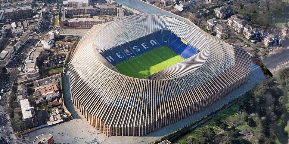 Каким будет новый стадион «Челси»