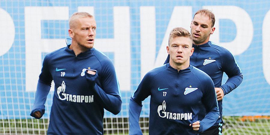 Шатов едет в Казань, Смольников — в Краснодар, Иванович — в Ливерпуль. Почему «Зенит» расстался с тремя игроками