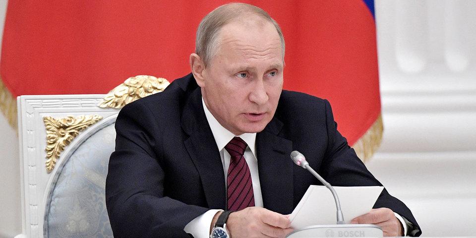 Владимир Путин: «Спокойно будем работать с ВАДА и МОК, устраняя те проблемы, которые у нас действительно есть»