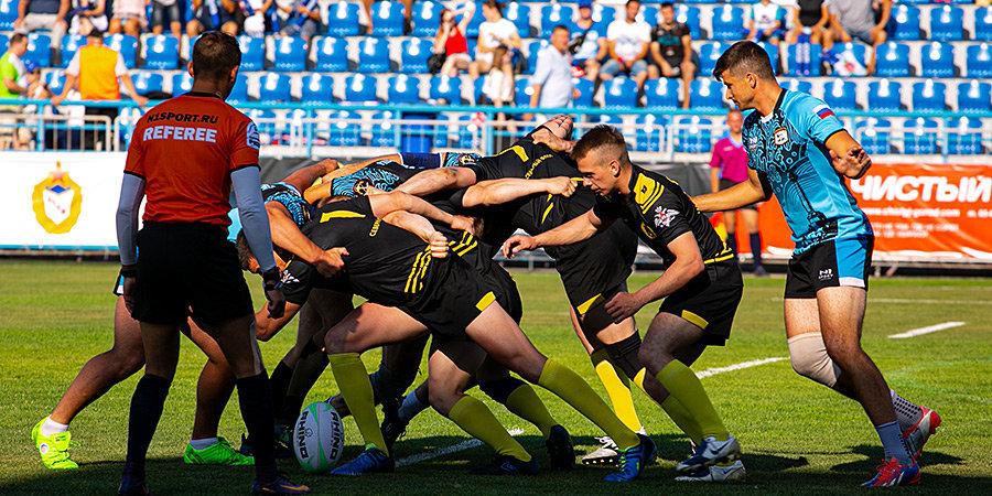 В Севастополе прошел самый масштабный в России Кубок по регби-7 среди флотских команд