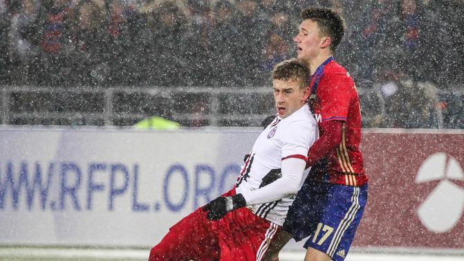 ЦСКА в заснеженной Москве сыграл вничью с «Амкаром» и опустился на 4-е место в РФПЛ