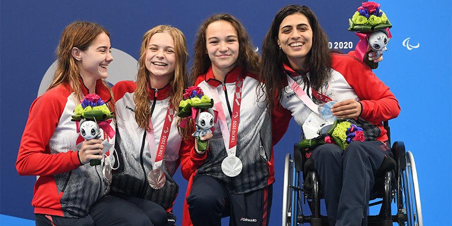 Ищиулова завоевала серебро Паралимпиады на 100 метров баттерфляем