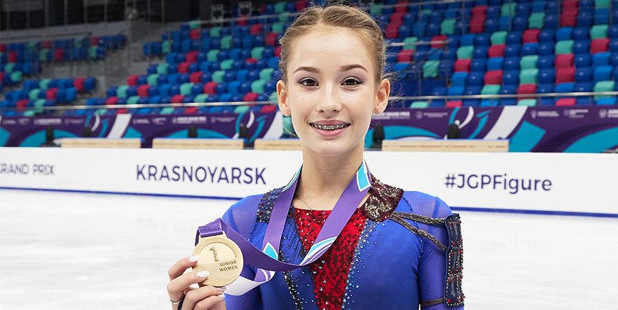 Софья Акатьева — новая звезда «Хрустального». Считает примером Щербакову и мечтает попасть в раздевалку старшей группы