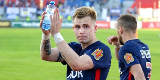 Данченко провел первую тренировку в составе «Рубина»