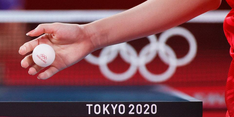 Женская сборная Китая выиграла золото в команде по настольному теннису