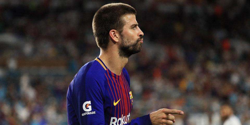 Сын Пике забил гол на тренировке «Барселоны» и вызвал бурную радость Шакиры
