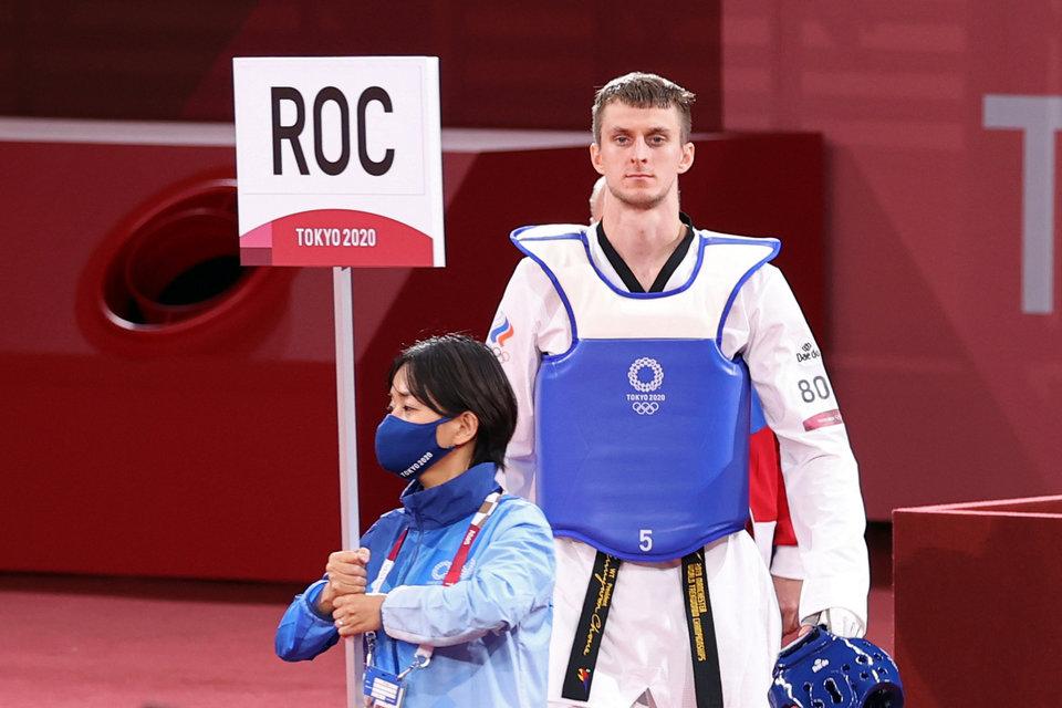 Тхэквондист Ларин вышел в финал Олимпиады в Токио