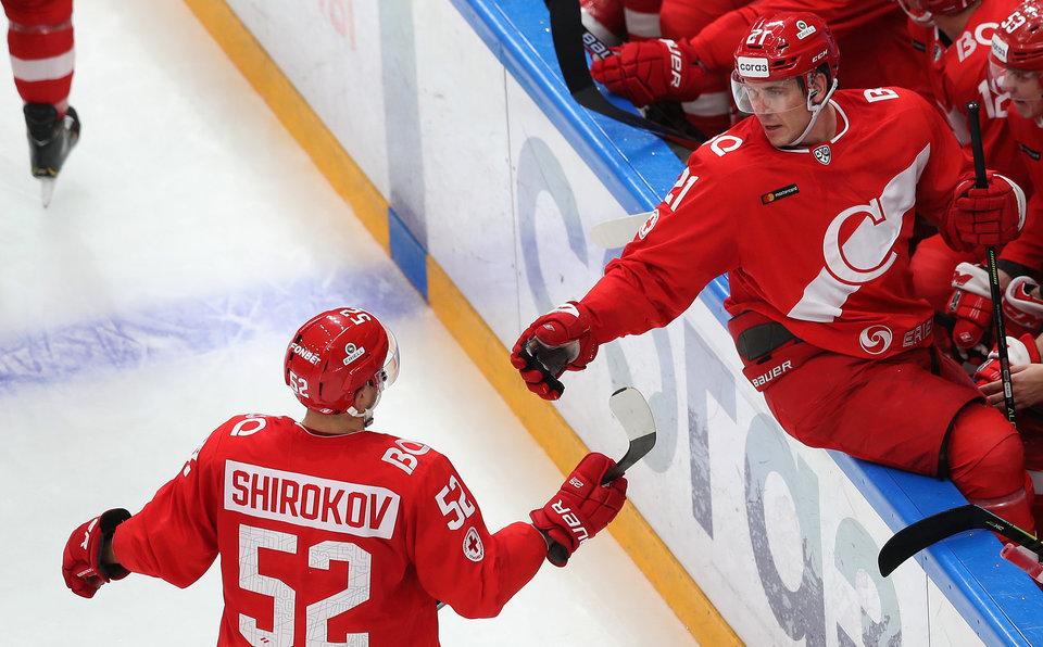 Широков недоволен игрой «Спартака» в большинстве в матче против СКА