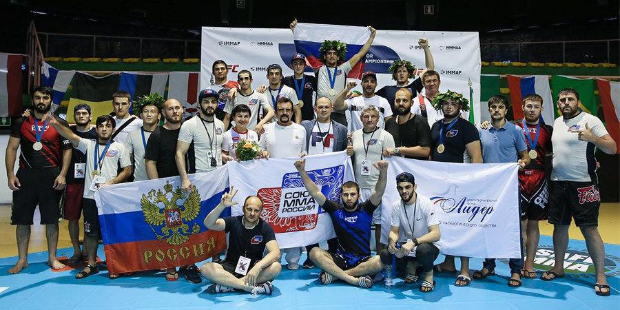Россия одержала четвертую победу подряд на чемпионате Европы по ММА