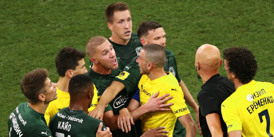 «Краснодар» ушел от поражения в матче с «Ростовом», Мусаев заработал удаление