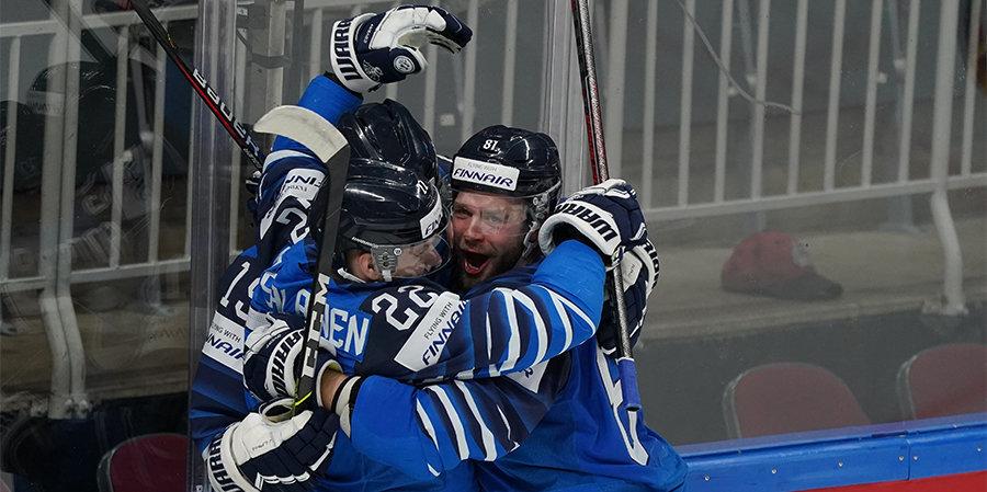 Сборные Финляндии и Канады сыграют в финале ЧМ по хоккею