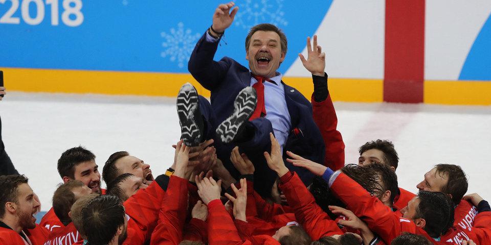 Олег Знарок: буду работать консультантом сборной Российской Федерации до31мая 2018-ого года