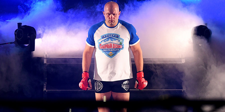 Федор Емельяненко: «Хоть я неплох в боксе, но биться с профессионалом — это слишком»