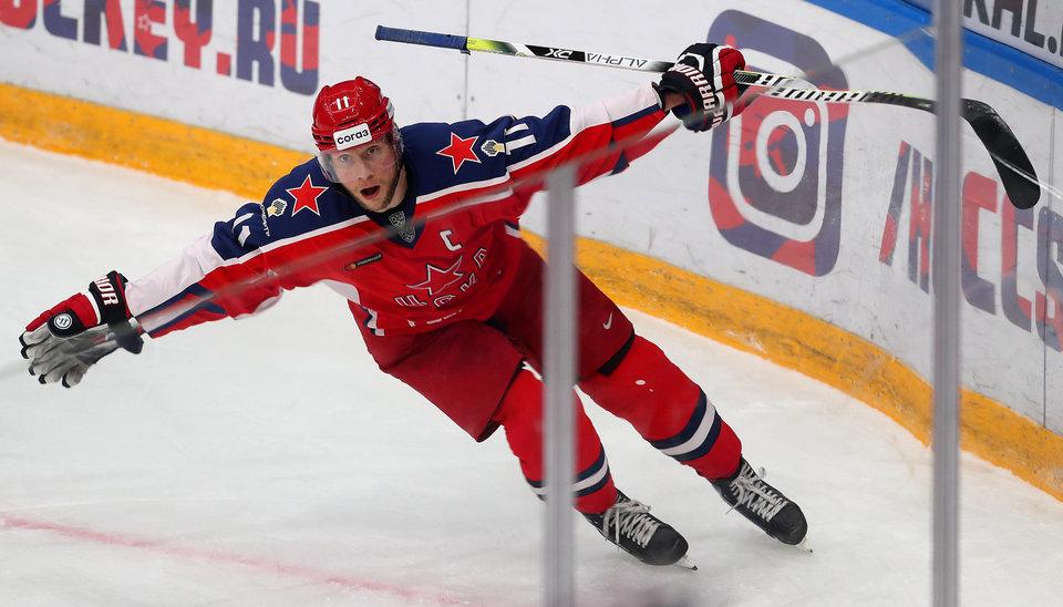 Капитан ЦСКА Андронов обратился к болельщикам после поражения в финальной серии Кубка Гагарина