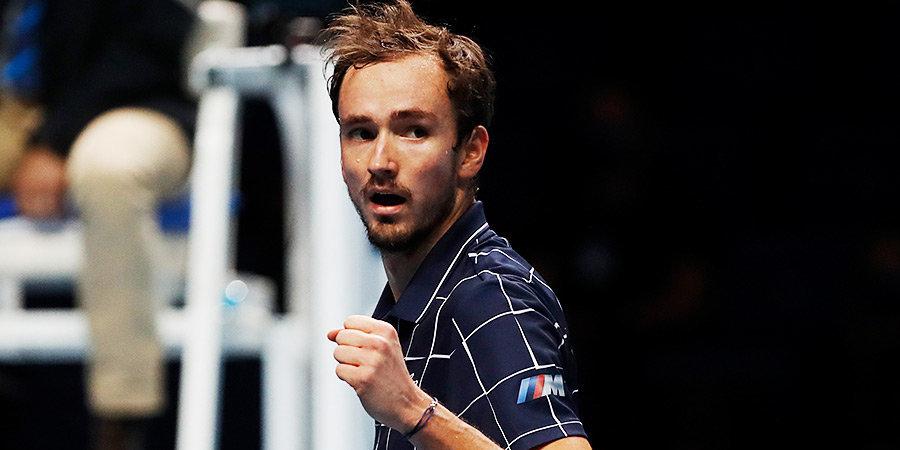Медведев обыграл Шварцмана и принес России победу над Аргентиной на ATP Cup