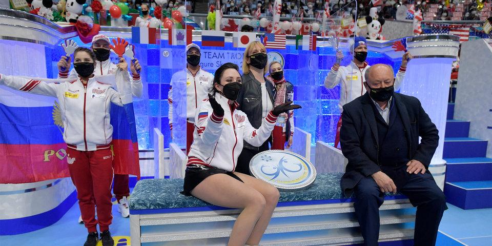 Елизавета Туктамышева: «Очень горжусь нашей командой, мы показали свою мощь»