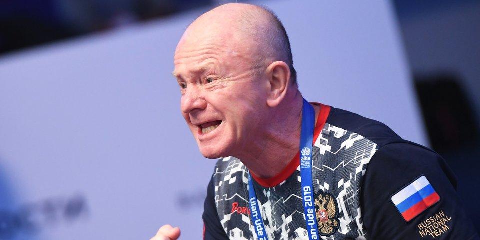 Главный тренер женской сборной России по боксу Шидловский ушел в отставку