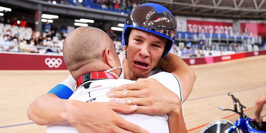 Итальянцы с мировым рекордом победили в командной гонке преследования на Олимпиаде