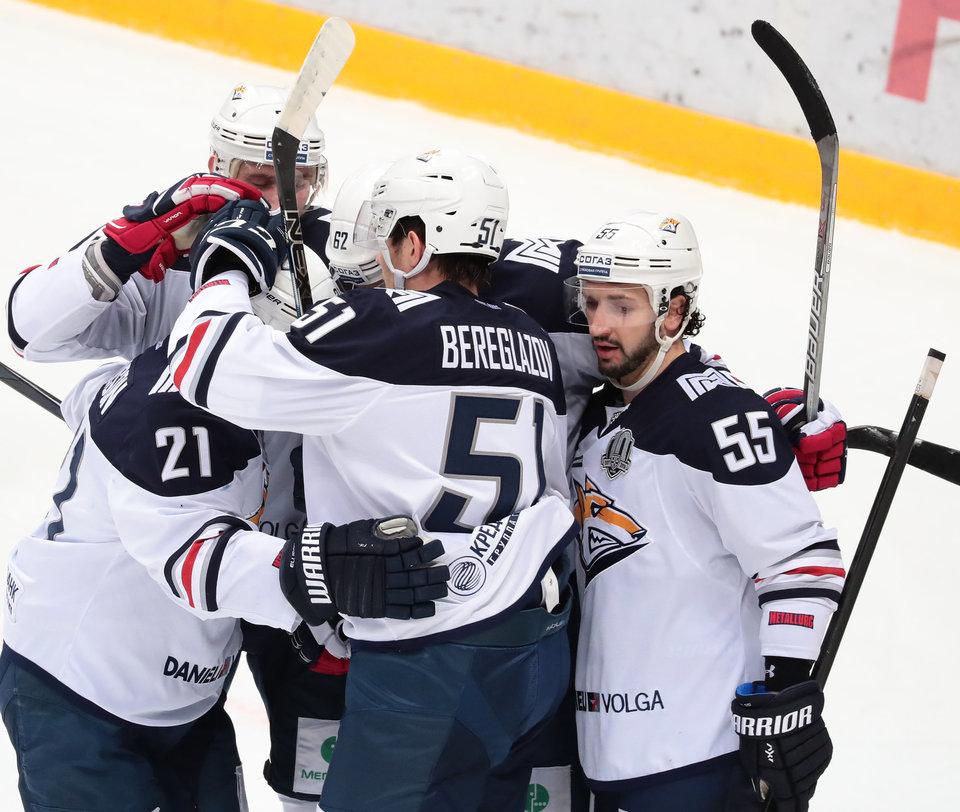 «Металлург» остался непобедимым для «Спартака» в Магнитогорске
