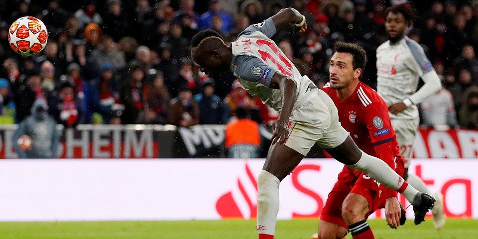 «Ливерпуль» выбил «Баварию» (голы). В четвертьфинале ЛЧ впервые за 10 лет сыграют 4 клуба АПЛ