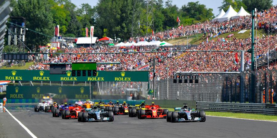 Гран-при Венгрии сможет пройти только без зрителей