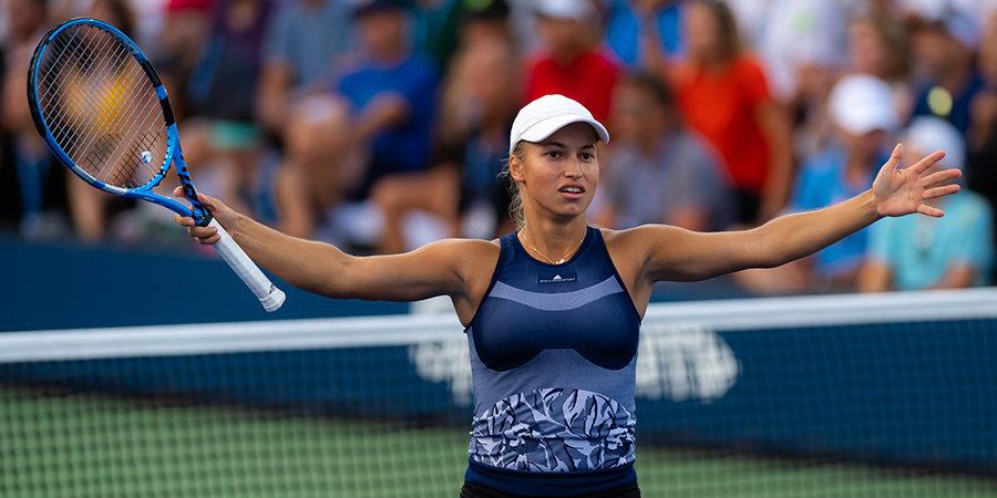 Путинцева вышла в полуфинал домашнего турнира в Казахстане, переиграв Гасанову