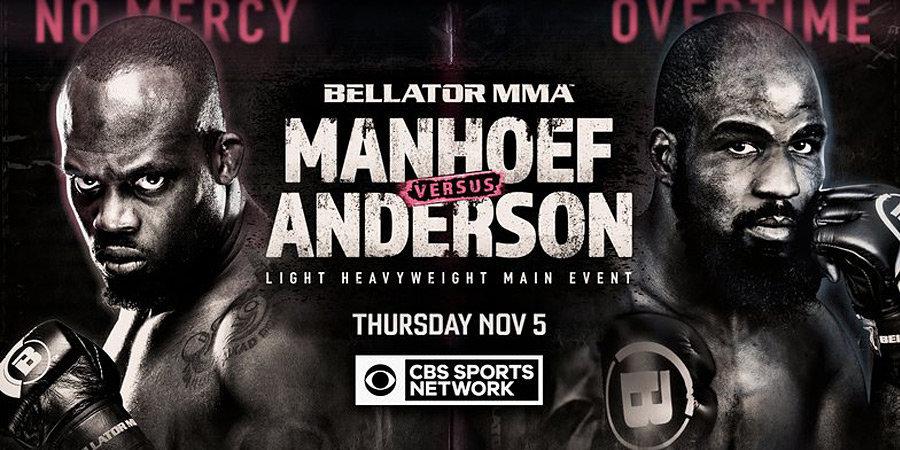 Андерсон досрочно победил Манхуфа в главном бою турнира Bellator 251
