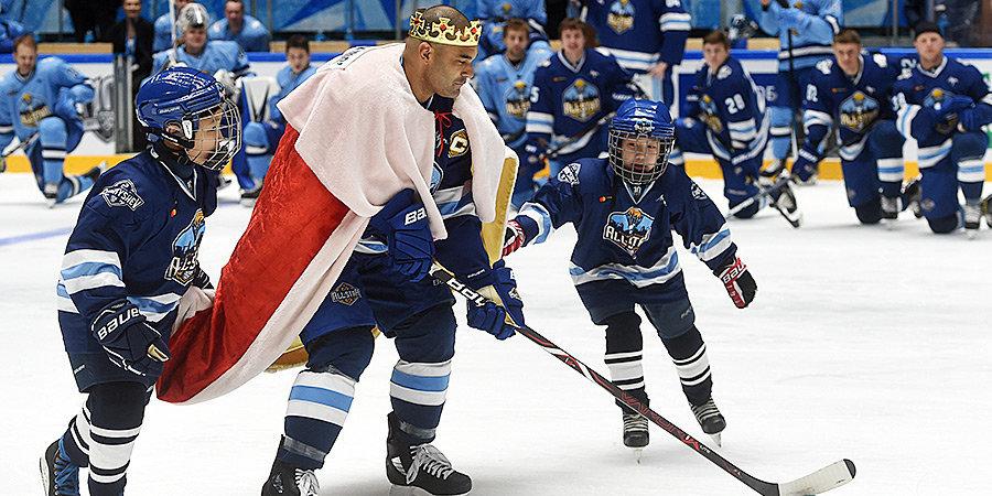 Соперник Фетисова, король хет-триков и последний тафгай. Символическая сборная «Барыса» в КХЛ
