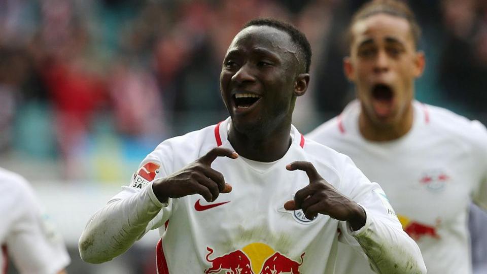 «Лейпциг» и «Фортуна» обменялись голами в матче бундеслиги