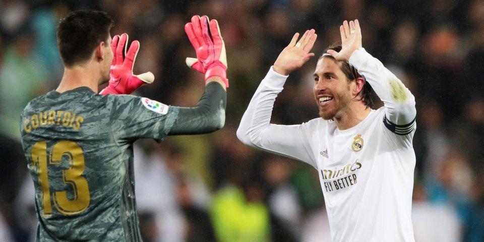 «Реал» обыграл «Эйбар» в 200-м матче под руководством Зидана