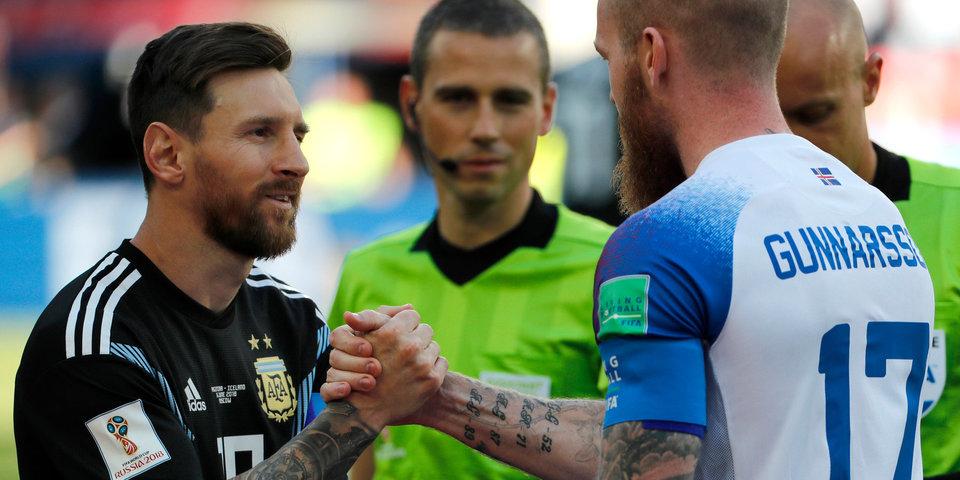 «Давай ничейку откатаем?» Фотовзгляд: Аргентина - Исландия