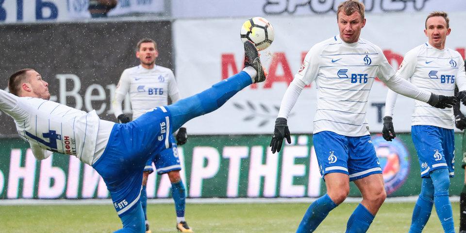 «Краснодар» довольствовался ничьей в матче с «Динамо»
