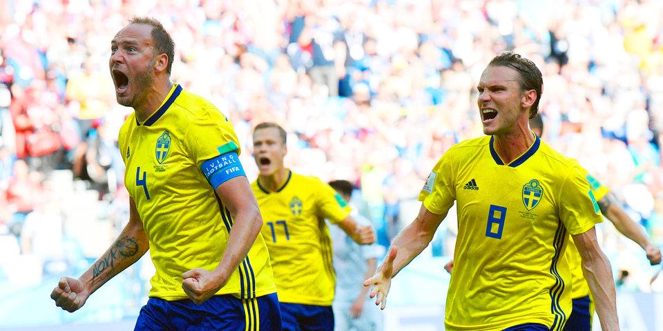 Шведы разгромили Мексику и вышли в плей-офф с первого места