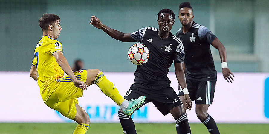 Загребское «Динамо» пропустило три мяча от «Шерифа» в матче раунда плей-офф ЛЧ