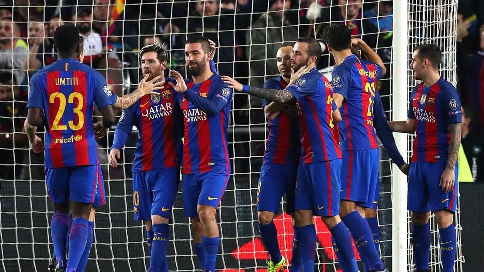 Хет-трик Турана принес «Барселоне» разгромную победу над «Боруссией», «Сити» поделил очки с «Селтиком»