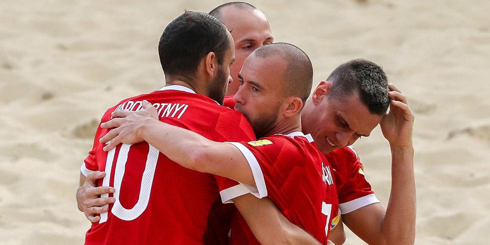 Российские пляжники забили Греции 9 мячей в матче Евролиги
