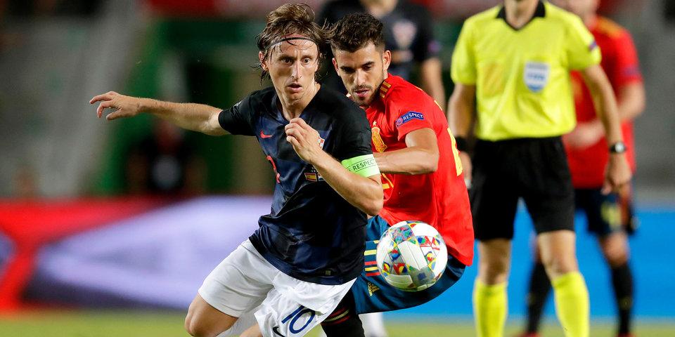 Шашечные рвутся в дамки! Все голы огненного матча Хорватия – Испания